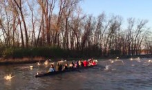Rowers Get Attacked by Flying Fish, Because Life Is Awesome (Video)