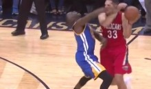 Someone Tell Draymond Green This Elbow Didn't Hit Him (Video)