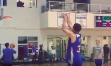 Steph Curry Hit 77 CONSECUTIVE 3′s in Practice Yesterday (Video)