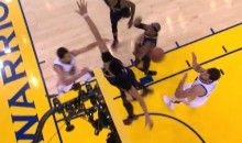 Steph Curry Dish to Bogut Seals The Deal For The Warriors (Video)