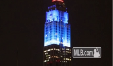 The Empire State Building Flew the Colors of Every MLB Team (Tweet and Video)