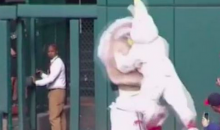 The Nationals Presidents' Race Featured a Vicious Bunny (Video)