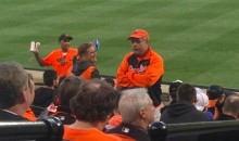 This Orioles Fan Turned His Back on Every A-Rod At-Bat (Pics)