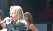 This Vince Neil National Anthem Went as Well As You'd Expect (Video)