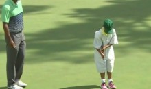 Tiger Woods' Daughter Makes Putt at Masters Par-3 Tournament (Video)