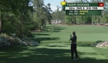 Tiger Woods Drops F-Bomb After Errant Drive At The Masters (Video)