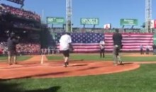 Tom Brady's First Pitch at Fenway Opener Was In The Dirt (Video)