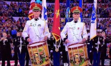 National Anthem at NCAA Final Played By US Army Band (Video)