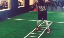 Watch Browns WR Andrew Hawkins Work His Crazy Feet (Video)