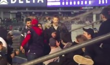 Yankee and Red Sox Fans Dump Beer on Each Other (Video)