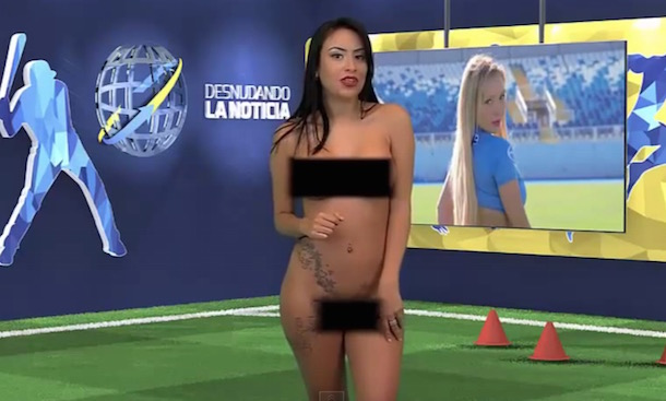 Yuvi Pallares Strips Naked For Cristiano Ronaldo (Video