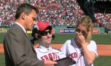 Boston Red Sox Sign ALS Ice Bucket Challenge Founder Pete Frates to Honorary Contract (Video)