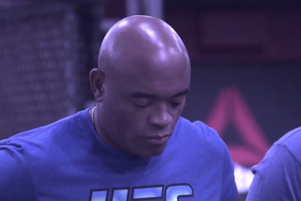 anderson silva reaction