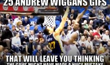 25 Andrew Wiggins GIFs That Will Leave You Thinking the Cavs Might Have Made a Huge Mistake
