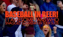 Baseball in Beer: 11 Awesome Fans Who Snagged Souvenirs in Their Suds