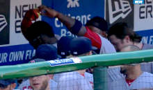 "Watch Big Papi and Hanley Ramirez Dance to ""That's Amore"" in the Red Sox Dugout (Video)"