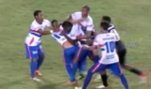 Check Out this Brazilian Soccer Fight…Between Two Guys on the Same Team (Video)