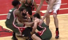 Bulls-Bucks Chippy Game 2 Featured Two Skirmishes, Seven Technicals, and an Ejection (Videos)