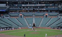 "O's TV Announcer Gary Thorne Busts Out His ""Masters Voice"" for Game at Empty Camden Yards (Video)"
