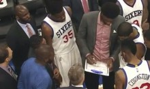 Tank Hard: The Sixers Had Joel Embid Coaching the Team Last Night to Ensure They'd Lose to Miami (Video)