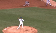 Rare Jon Lester Pickoff Attempt Goes Very, Very Poorly (Video)