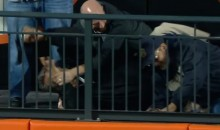 Let's Watch Mets Fans Wrestle Each Other For a Wilmer Flores Home Run Ball (Video)