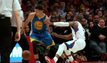 Steph Curry Behind-the-Back Crossover Surgically Removes Chris Paul's Ankles and Replaces Them with Rubber Bands (Videos)