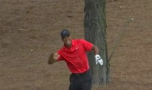 Stupid Augusta National Tree Root Gives Tiger Woods Dislocated Wrist at Masters (Videos)