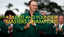 9 Oldest and Youngest Masters Champions