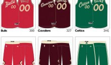Check Out These Leaked Images of the 2015 NBA Christmas Uniforms (Pics)