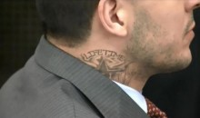 "New Aaron Hernandez Neck Tattoo Reads ""LIFETIME"" (Pics)"