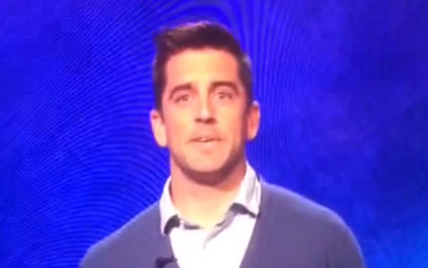 Aaron Rodgers won Tuesday's episode of 'Celebrity Jeopardy!'