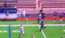 Albany Goalie Goes Coast-to-Coast for Impressive Lax Goal (Video)