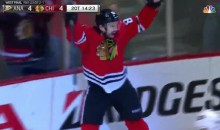 Antonie Vermette Wins it For Blackhawks in Double OT (Video)