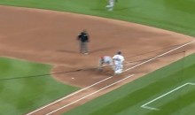 Bartolo Colon (Yup, Him) Beats Out a Grounder to First (Video)