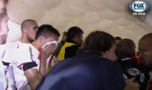 Boca Juniors Fans Pepper Spray River Plate Players in Game (Video)