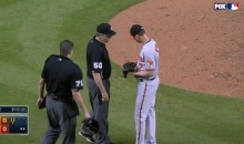 Orioles' Brian Matusz Ejected for Foreign Substance (Video)