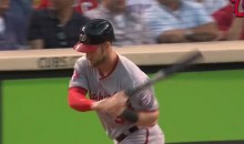 Bryce Harper Throws Bat After Homer Because He Thought It Was a Pop Fly (Video)