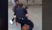 NYPD Officers Play Some Streetball in the Bronx (Video)