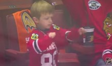 Young Blackhawks Fan Dances Like He's Popped Molly (Video)