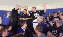 Cops Arrest Lightning Fan at Arena with a Handgun (Video)