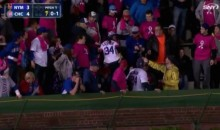 Cubs Fan Wipes Butt With Hat, Throws It Onto The Field, Delays Game (Video)