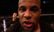"Daniel Cormier Post-Fight: ""Jon Jones, Get Your Sh*t Together, I'm Waiting For You"" (Video)"