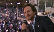 Eddie Vedder Belts Out 'Take Me Out to the Ballgame' (Video)