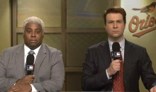 'SNL' Does Empty Baltimore Stadium Sketch (Video)