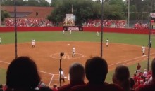 Fans Sing Their Own National Anthem Before Softball Game (Video)
