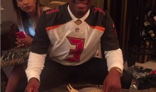 Hey! Jameis Winston Had Crab Legs at His Draft Party! (Pics)