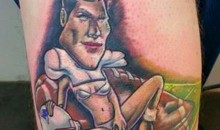 Is This The Worst Tom Brady Tattoo Possible? Yes. Yes It Is. (Pics)