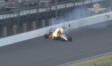 Indy 500 Practice Crash Nearly Took James Hinchcliffe's Life (Video)