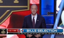Jim Kelly Receives Standing Ovation at NFL Draft (Video)